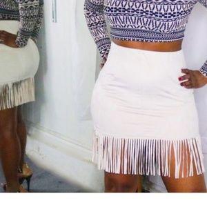 Dresses & Skirts - Fringe Skirt